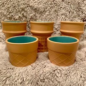 Target Dollar Spot Ceramic Ice Cream Cones